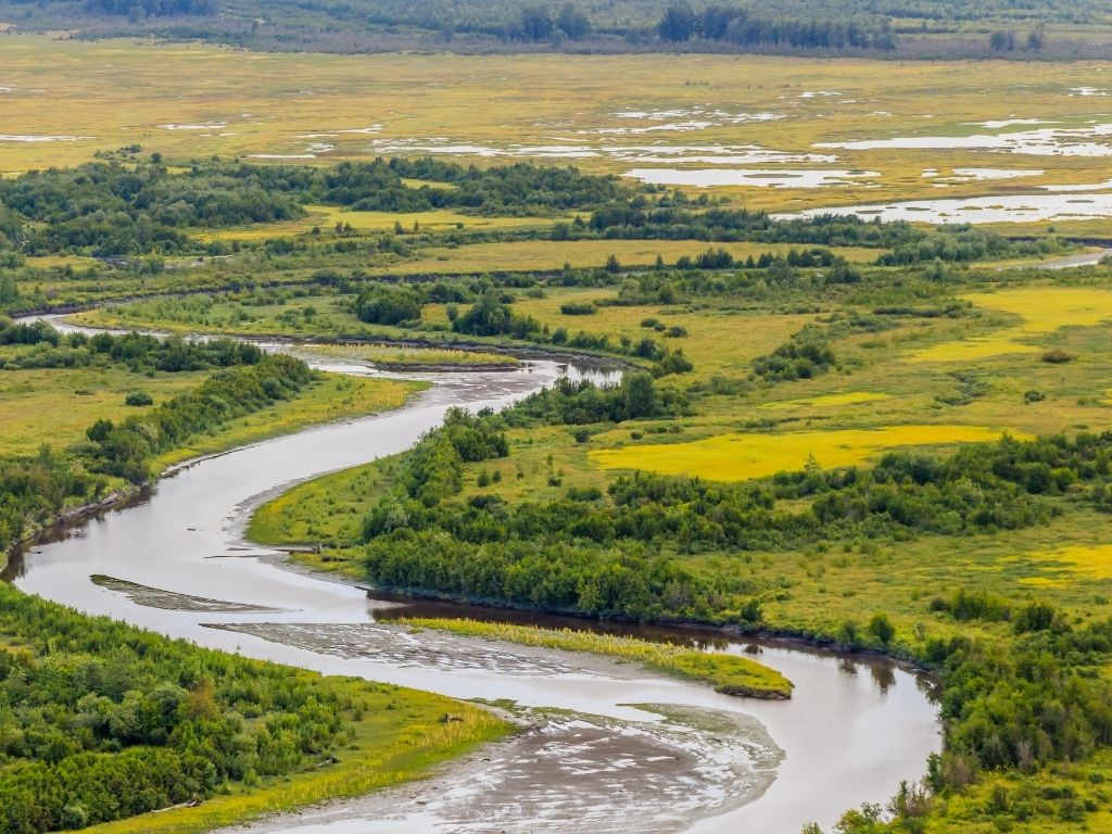 fly fishing rivers in Alaska