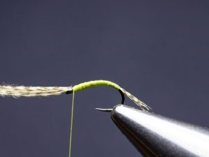 how to tie a WD-40 fly step 6