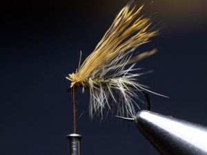 how to tie an elk hair caddis fly step 14