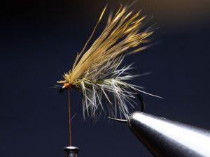 how to tie an elk hair caddis fly step 15