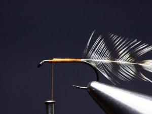 how to tie an elk hair caddis fly step 5