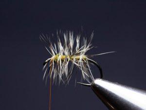 how to tie an elk hair caddis fly step 8