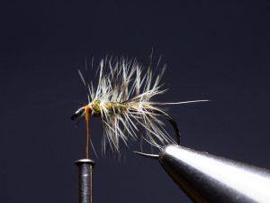 how to tie an elk hair caddis fly step 9