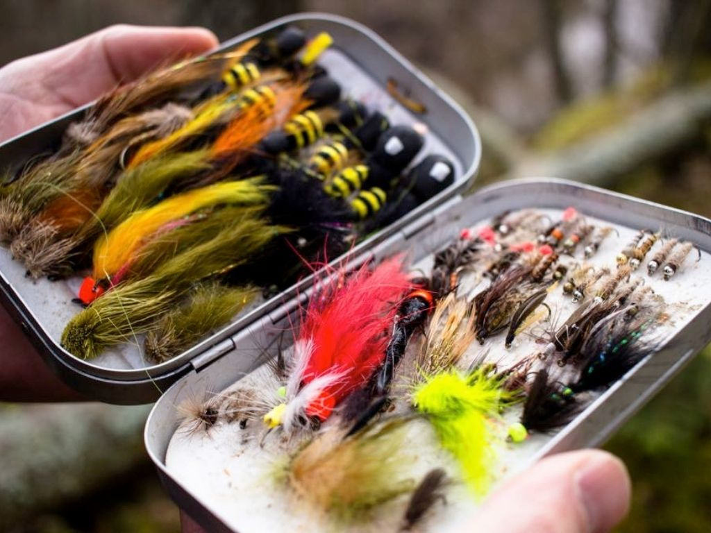wet fly fishing flies