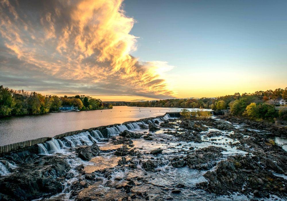 Merrimack River fishing