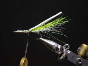 how to tie a gurgler fly step 12