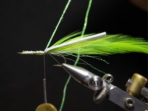how to tie a gurgler fly step 14