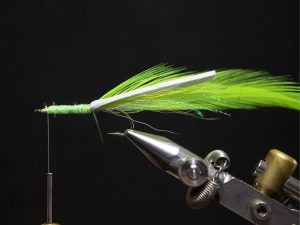 how to tie a gurgler fly step 15