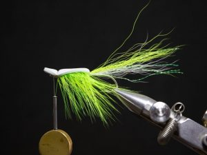 how to tie a gurgler fly step 20