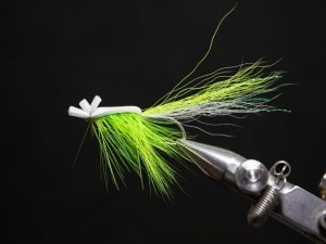 how to tie a gurgler fly step 22
