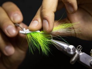 how to tie a gurgler fly step 23
