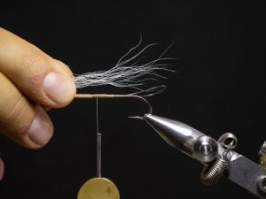 how to tie a gurgler fly step 6