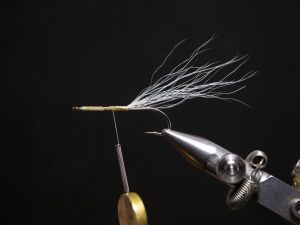 how to tie a gurgler fly step 7