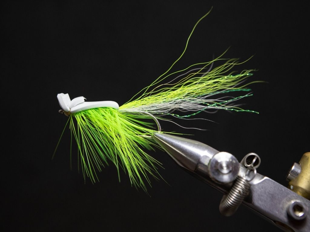 how to tie a gurgler fly
