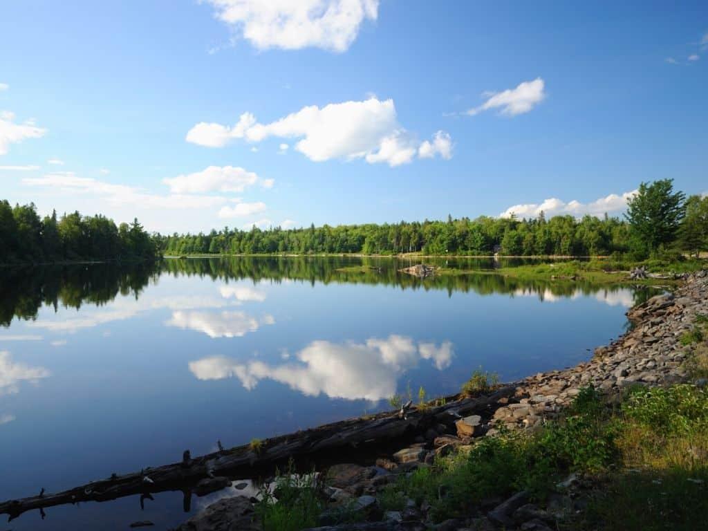 Sebago Lake fly fishing
