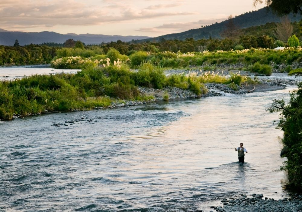 fly fishing using 2 weight fly rods